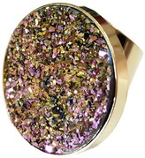 Tiana Jewel Candy Pop Rainbow Metallic Druzy Ring