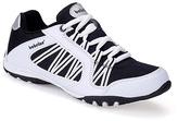 White & Black Mesh Sneaker