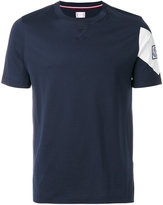 Moncler Gamme Bleu logo patch T-shirt
