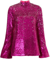 G.V.G.V. sequin embellished blouse