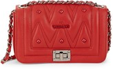 Mario Valentino Valentino By Beatriz D Sauvage Quilted Leather Crossbody