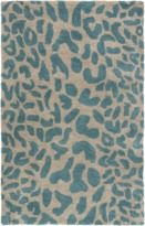 The Well Appointed House Surya Athena Rug in Dark Green and Camel-Available in a Variety of Sizes