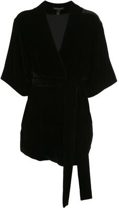 Kiki de Montparnasse Belted Robe Jacket