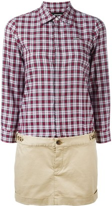 DSQUARED2 checked shirt dress