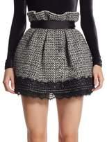 Faith Connexion Tweed Short Skirt