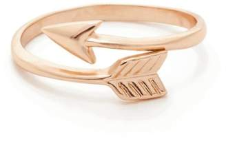 Earthy Chic Arrow Ring