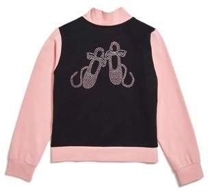 Jacques Moret Girls Warm Up Jacket (Little Girls & Big Girls)