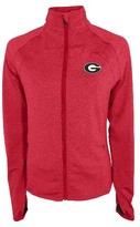 NCAA Georgia Bulldogs Women's Synthetic Full Zip Activewear Sweatshirt