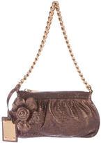 Dolce & Gabbana Metallic Leather Pochette