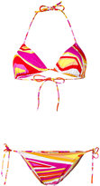 Emilio Pucci patterned two-piece bikini - women - Polyamide/Spandex/Elastane - 38