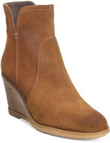 Kenneth Cole Reaction Dot-Ation Wedge Ankle Booties