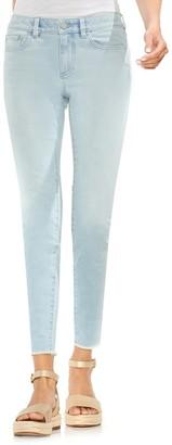 Vince Camuto Raw Hem Skinny Jeans