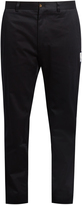 Moncler Gamme Bleu Slim-fit cotton chino trousers