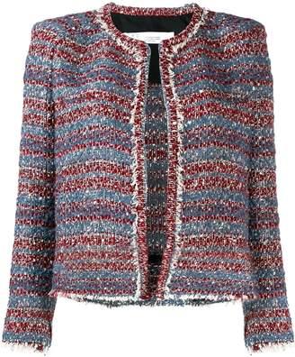 IRO two-tone knit jacket