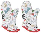 Now Designs Basic Oven Mitt, Set of Two, True North