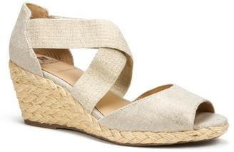 White Mountain Footwear Hudlin Espadrille Wedge Sandal