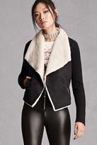 Forever 21 FOREVER 21+ Faux Fur-Lined Jacket