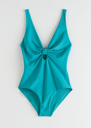 And other stories Front Knot Swimsuit