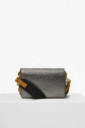 French Connection Colour Block Metallic Leather Cross Body Bag