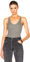 ATM Anthony Thomas Melillo V Neck Tank Bodysuit