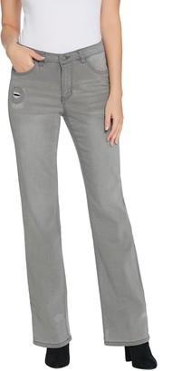Women With Control Petite My Wonder Denim Boot-Cut Jeans
