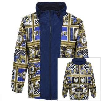 Versace Hooded Jacket Blue