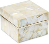 Philmore USA Mother-of-Pearl Box w/ Sterling Silver