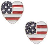 Carole Heart Flag Earring