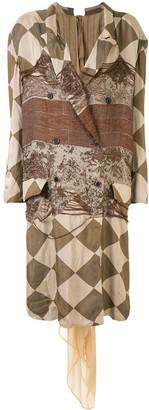 UMA WANG Kaori geometric jacket