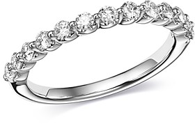 Bloomingdale's Classic Prong-Set Diamond Band in 14K White Gold, 0.50 ct. t.w. - 100% Exclusive