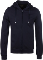 Paul & Shark Navy Zip Through Hooded Sweatshirt