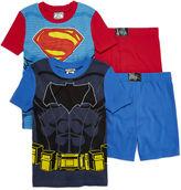 LICENSED PROPERTIES DC Comics Batman vs. Superman 4-pc. Pajama Set - Boys 4-10