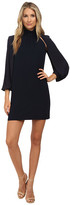 Versace Long Sleeve Open Arm Dress