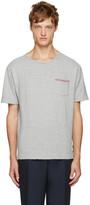 Thom Browne Grey Distressed T-Shirt