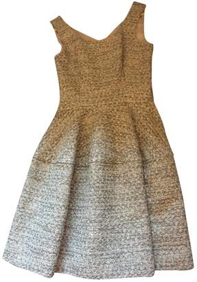 HUGO BOSS Grey Cotton Dress for Women
