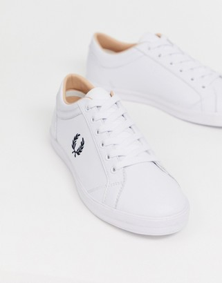 Fred Perry Baseline leather sneakers in white