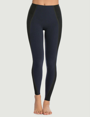 Spanx Active Every.Wear mesh-insert stretch-jersey leggings