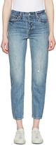 Levi's Levis Blue Wedgie Fit Jeans