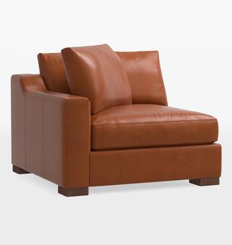 Rejuvenation Sublimity Luxe Leather Sectional Left Arm Chair