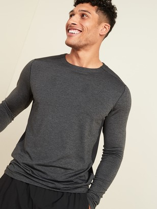 Old Navy Go-Dry Cool Odor-Control Long-Sleeve Base Layer Tee for Men