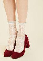 Cheer for Sheer Socks