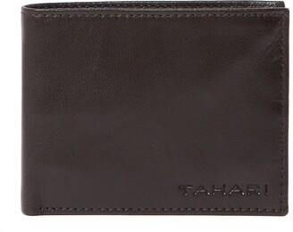 Tahari RFID Bifold Leather Wallet