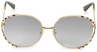 Gucci 59MM Cutout Sunglasses