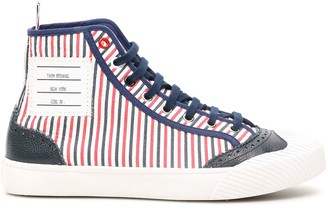 Thom Browne Hi-top Trainer Sneakers