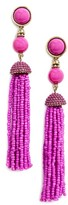 BaubleBar Women's Artemis Tassel Drop Earrings