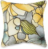 Bed Bath & Beyond Outdoor 17-Inch Square Throw Pillow in Whitlock Yellow