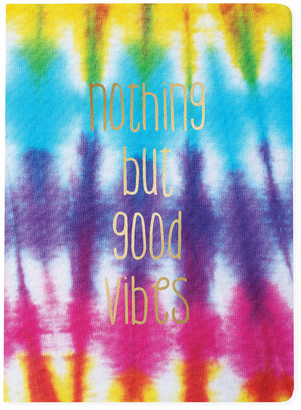 Graphique Good Vibes Large Vegan Leather Journal Multi 1 Size
