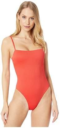 Vitamin A Swimwear Jenna Bodysuit Full (Marisol EcoTex) Women's Swimsuits One Piece