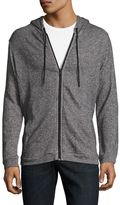Onia Cotton Intarsia Hooded Jacket