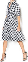Gracia Plaid Dress